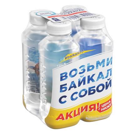 Глубинная байкальская вода BAIKAL430, ПЭТ 0.45 литра