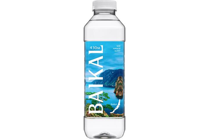 Глубинная байкальская вода «BAIKAL430», ПЭТ 0.85 литра