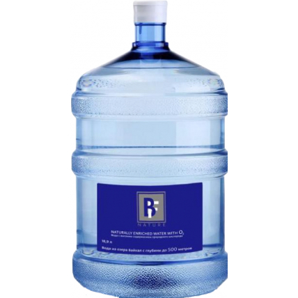 Питьевая вода BAIKALIAN FORCE 19 литров в одноразовой таре - купить и заказать с доставкой