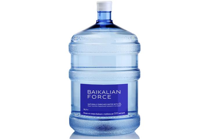 Бутилированная глубинная байкальская вода «BAIKALIAN FORCE», ПЭТ 19 л (одноразовая бутыль)