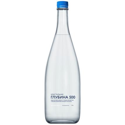 Глубинная байкальская вода «Кристальная глубина 500», ПЭТ 1.3 литра