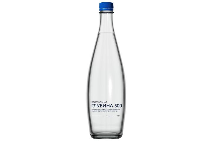 Глубинная байкальская вода «Кристальная глубина 500», ПЭТ 0.5 литра