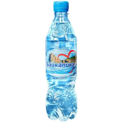 Вода глубинная Байкалика без газа 0.5 литра - купить и заказать с доставкой