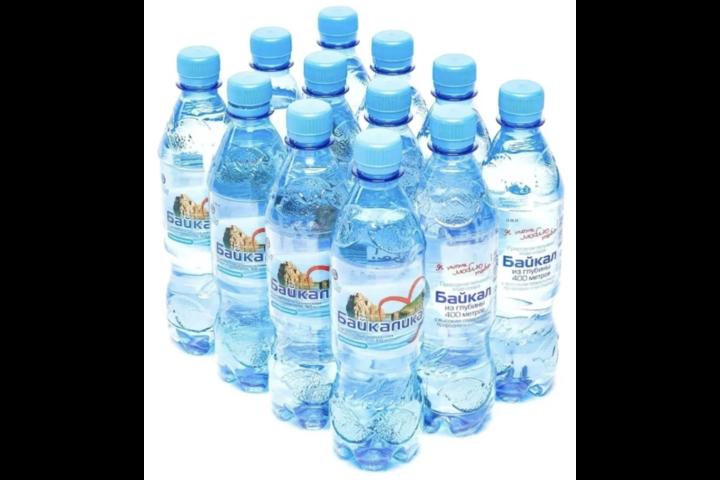 Глубинная байкальская вода Байкалика, ПЭТ 0.5 литра