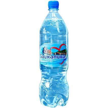 Вода глубинная Байкалика без газа 1.25 литра - купить и заказать с доставкой
