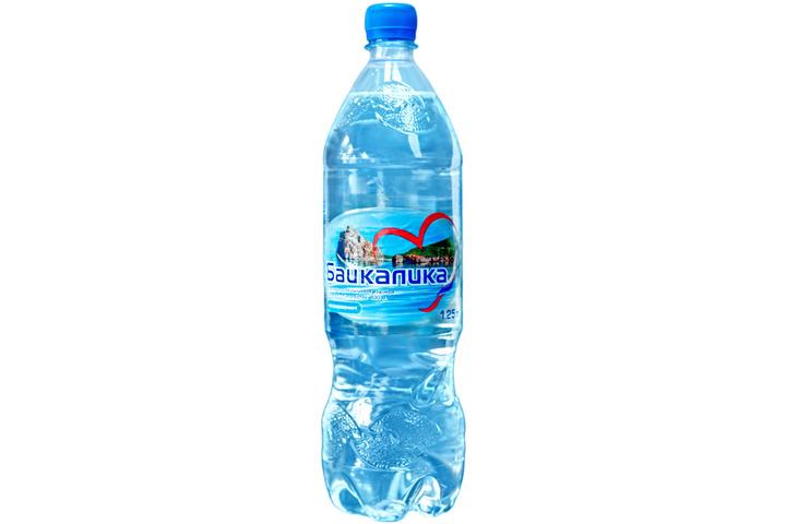 Глубинная байкальская вода Байкалика, ПЭТ 1.25 литра