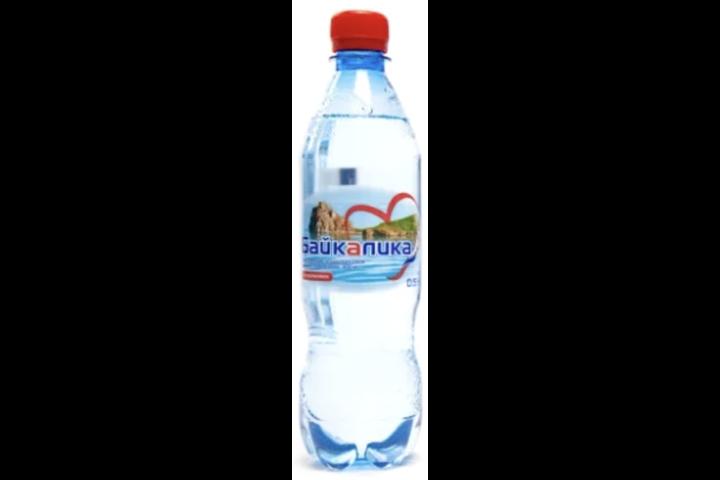 Глубинная байкальская вода Байкалика газ., ПЭТ 0.5 литра