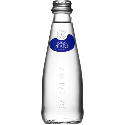Природная вода Жемчужина Байкала (BAIKAL PEARL) стекло 0.25 литра
