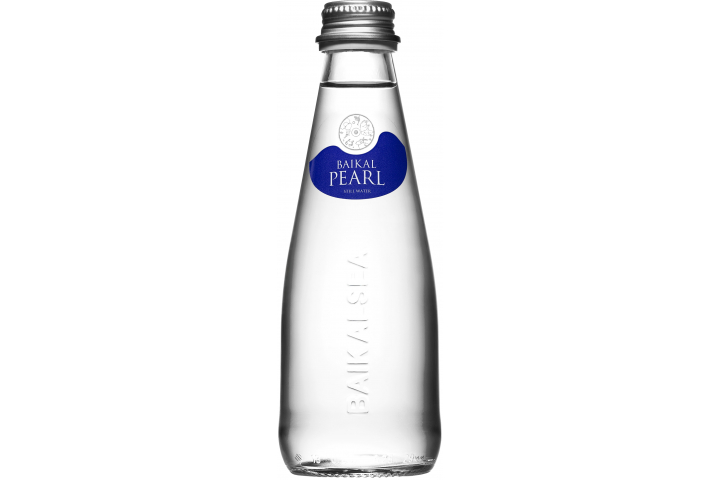 Природная вода Жемчужина Байкала (BAIKAL PEARL), стекло 0.25 литра