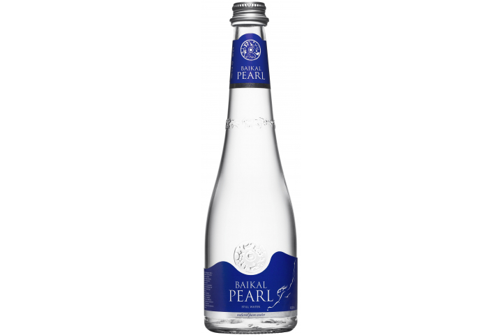 Природная вода Жемчужина Байкала (BAIKAL PEARL), стекло 0.53 литра