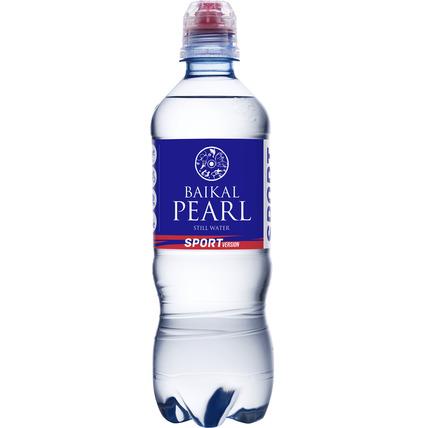 Природная вода Жемчужина Байкала (BAIKAL PEARL) спорт 0.5 литра - купить и заказать с доставкой
