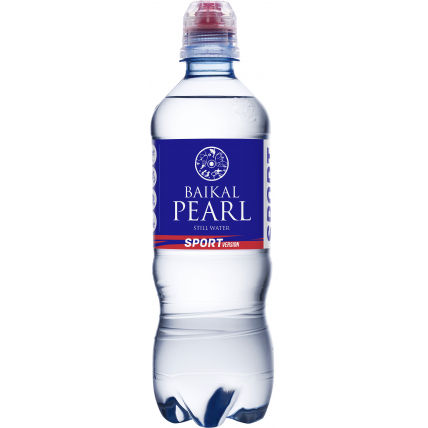 Природная вода «Жемчужина Байкала» (BAIKAL PEARL) спорт 0.5 литра