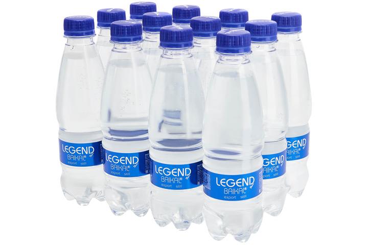 Глубинная байкальская вода Легенда Байкала (LEGEND OF BAIKAL), ПЭТ 0.33 литра
