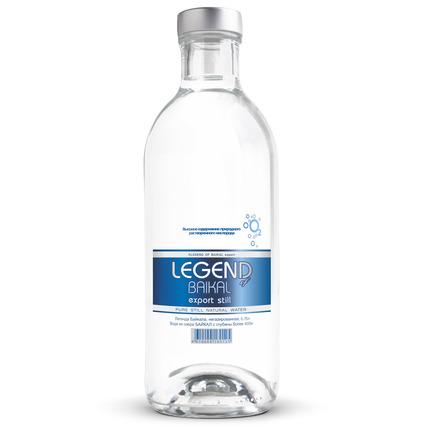 Глубинная байкальская вода Легенда Байкала (LEGEND OF BAIKAL), стекло 0.75 литра