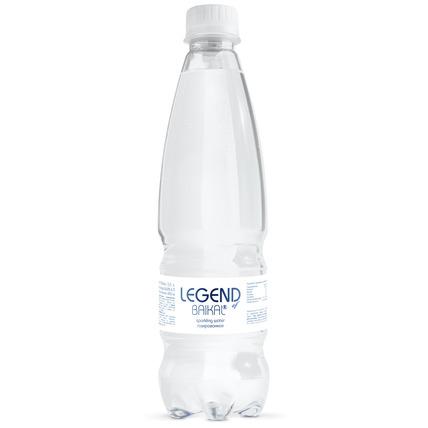 Глубинная байкальская вода Легенда Байкала (LEGEND OF BAIKAL) газ., ПЭТ 0.5 литр...