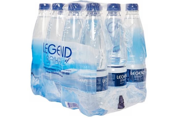 Глубинная байкальская вода Легенда Байкала (LEGEND OF BAIKAL), ПЭТ 0.5 литра