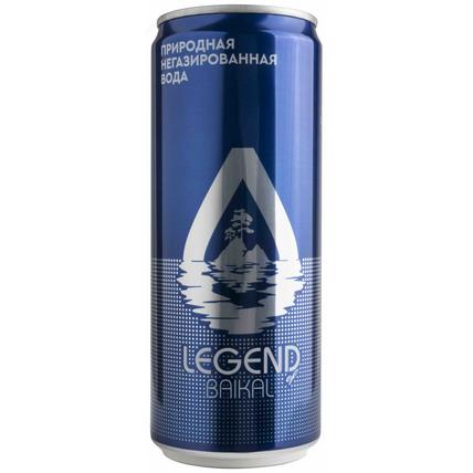 Глубинная байкальская вода Легенда Байкала (LEGEND OF BAIKAL), ЖБ 0.33 литра - купить и заказать с доставкой