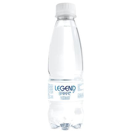 Глубинная байкальская вода Легенда Байкала (LEGEND OF BAIKAL) газ., ПЭТ 0.33 лит...
