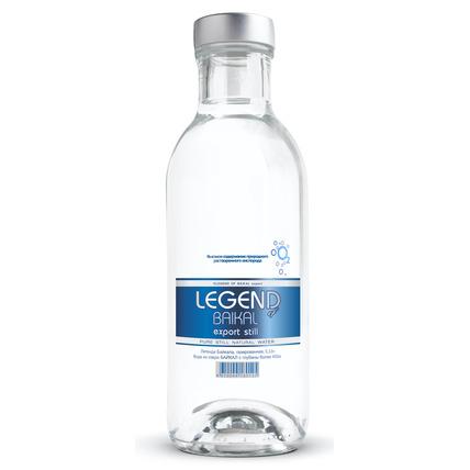Глубинная байкальская вода Легенда Байкала (LEGEND OF BAIKAL), стекло 0.33 литра