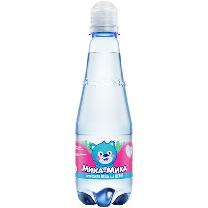 Природная байкальская вода для детей «Мика-Мика», ПЭТ 0.33 литра