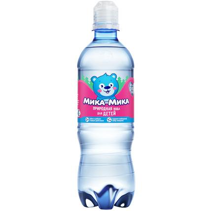 Природная вода для детей «Мика-Мика», ПЭТ 0.5 литра
