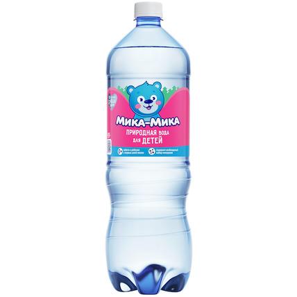 Природная вода для детей «Мика-Мика», ПЭТ 1.5 литра