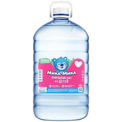 Природная вода для детей «Мика-Мика», ПЭТ 5 литров