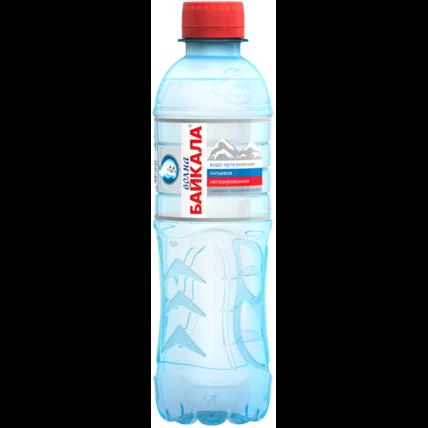 Питьевая вода Волна Байкала (Wave of BAIKAL) без газа 0.33 литра