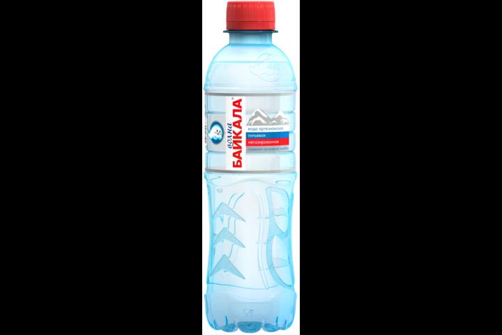 Природная вода Волна Байкала (Wave of BAIKAL), ПЭТ 0.33 литра