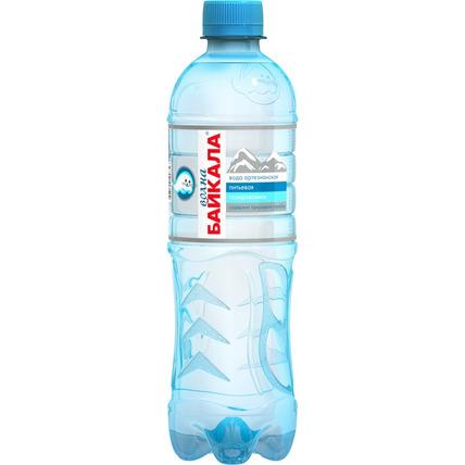 Питьевая вода Волна Байкала (Wave of BAIKAL) газ. 0.5 литра