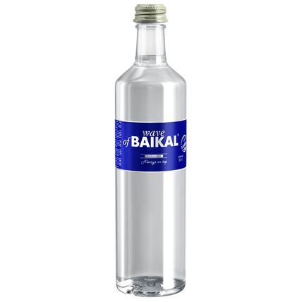 Питьевая вода Волна Байкала (Wave of BAIKAL) газ. стекло 0.5 литра