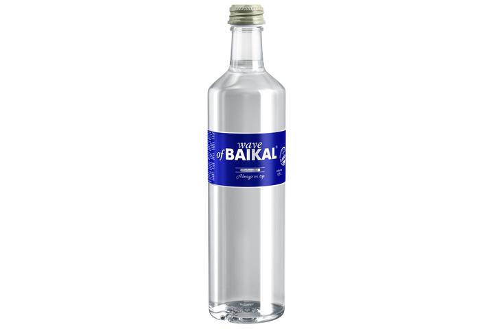 Природная вода Волна Байкала (Wave of BAIKAL) газ., стекло 0.5 литра