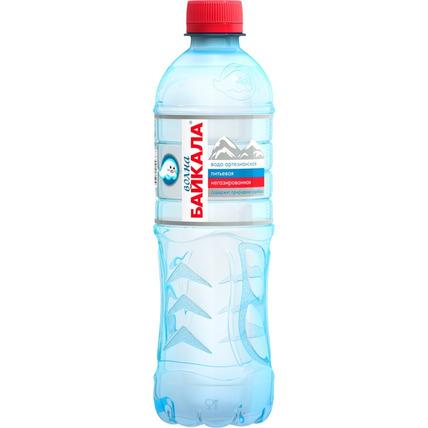 Питьевая вода Волна Байкала (Wave of BAIKAL) без газа 0.5 литра - купить и заказать с доставкой
