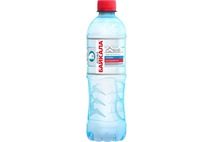 Природная вода Волна Байкала (Wave of BAIKAL), ПЭТ 0.5 литра