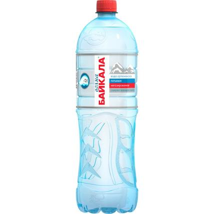 Природная вода Волна Байкала (Wave of BAIKAL), ПЭТ 1.5 литра