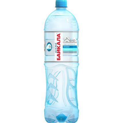 Природная вода Волна Байкала (Wave of BAIKAL) газ., ПЭТ 1.5 литра
