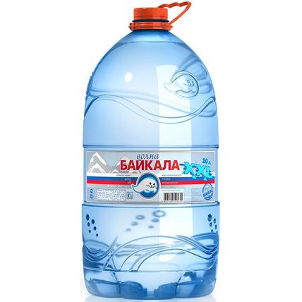 Природная вода Волна Байкала (Wave of BAIKAL), ПЭТ 10 литров