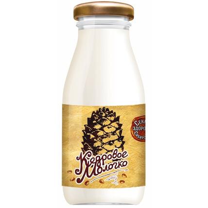 Кедровое молочко Sava, стекло 200 мл