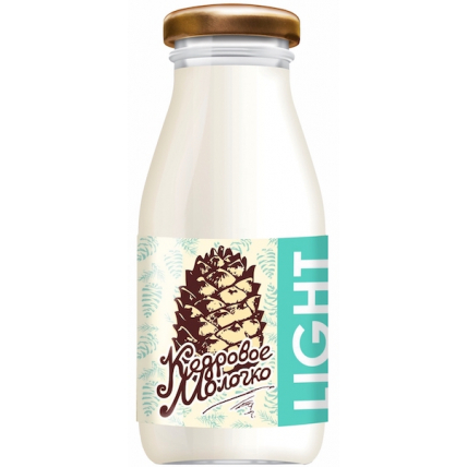 Кедровое молочко Sava Light, стекло 200 мл