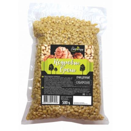 Кедровые орехи BioNergy очищенные, 500 г