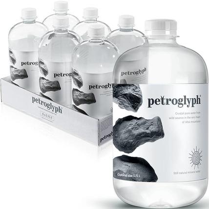 Вода минеральная Petroglyph негазированная 0.75 литра