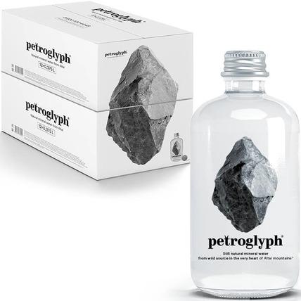 Вода минеральная Petroglyph негазированная стекло 0.375 литр...
