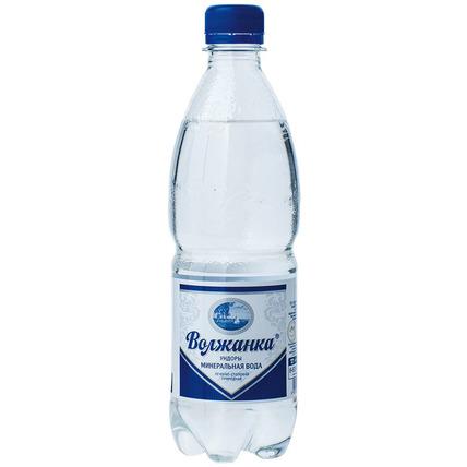 ВОЛЖАНКА минеральная газированная 0.5 литра...