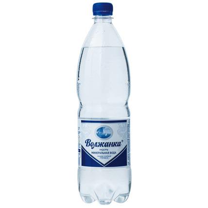 ВОЛЖАНКА минеральная газированная 1 литр...