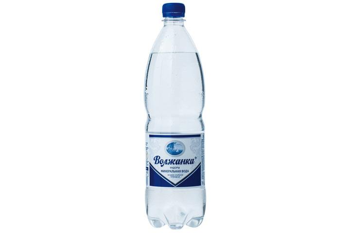 Минеральная вода Волжанка газ. 1 литр