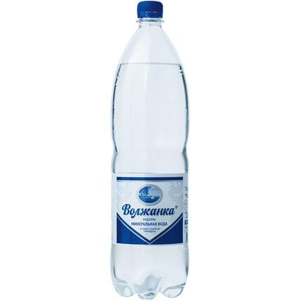 ВОЛЖАНКА минеральная газированная 1.5 литра...