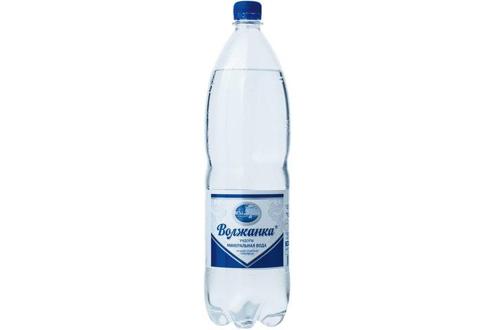 Минеральная вода Волжанка газ. 1.5 литра