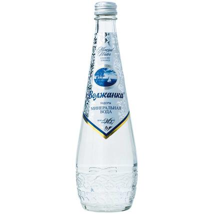 ВОЛЖАНКА минеральная газированная стекло 0.5 литра...
