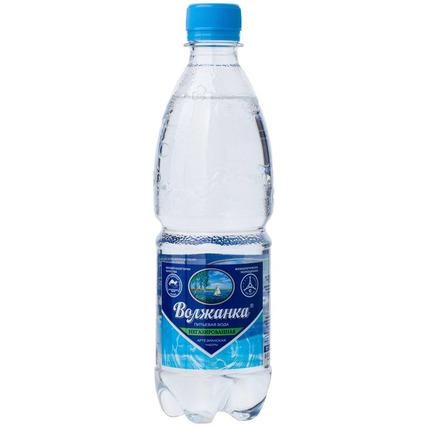 Вода питьевая Волжанка без газа 0.5 литра