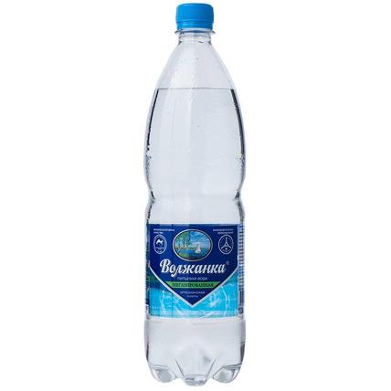 Вода питьевая ВОЛЖАНКА без газа 1 литр